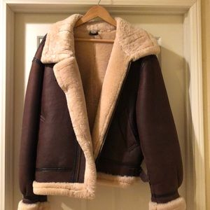 100% Shearling Winter Coat